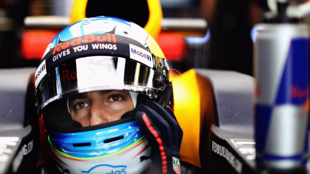 Foto: Daniel Ricciardo en su Red Bull. (Twitter @DanielRicciardo)