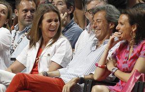 Foto: La infanta Elena apoya el baloncesto español