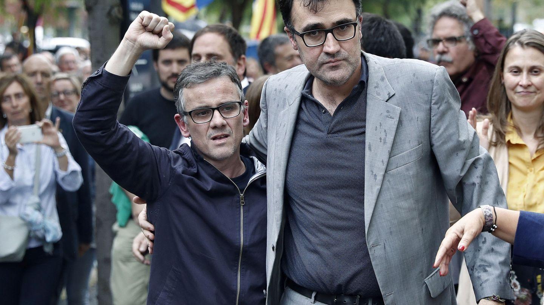 Josep Maria Jové y Lluís Salvadó. (EFE)