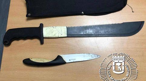 Dos jóvenes detenidos por una pelea con machetes en el barrio de La Elipa