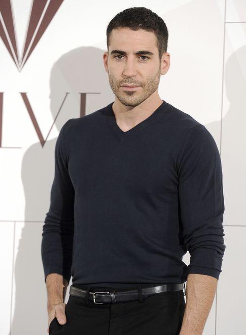 El actor en la presentación de 'Velvet' (I.C.)