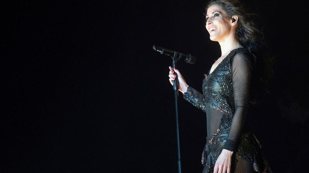 Foto: Foto del concierto de Malú en Madrid al que fue Albert Rivera. (EFE)