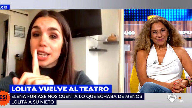 Lolita, en 'Espejo público'. (Antena 3)