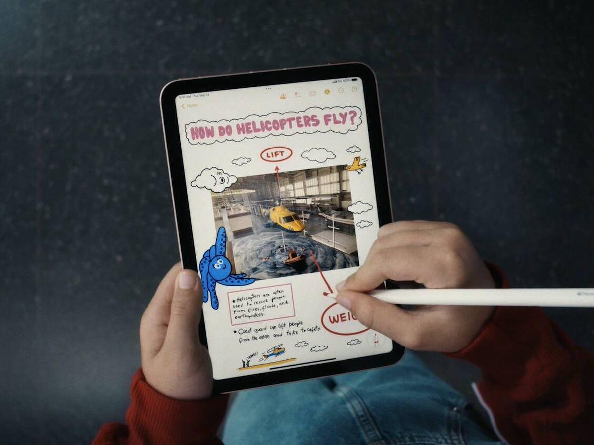 Foto: Nuevo iPad Mini.