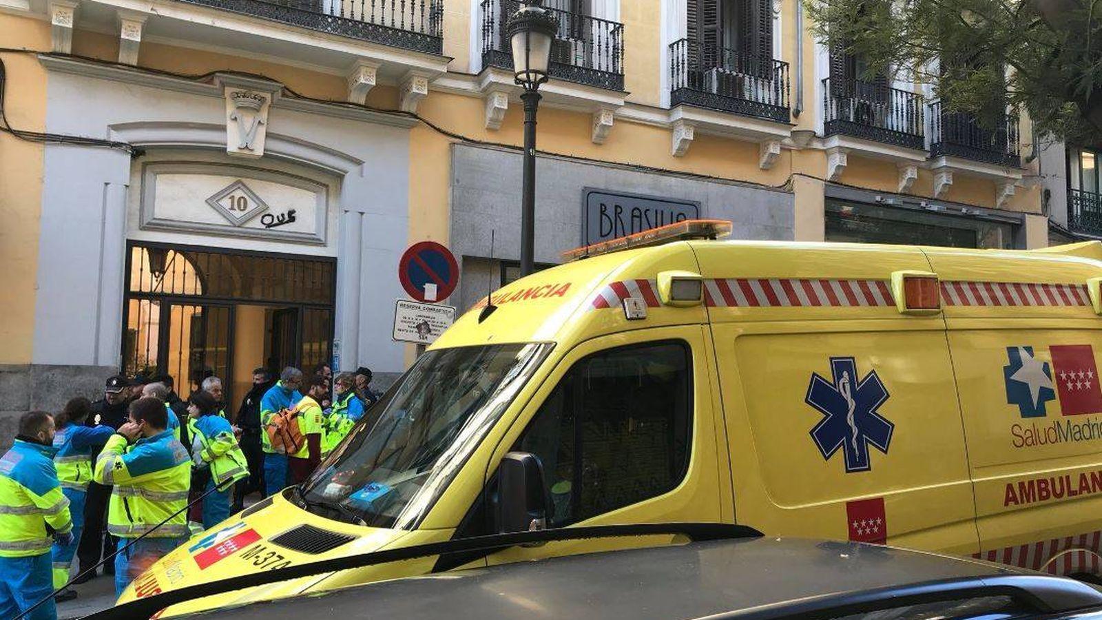 Foto: Lugar en el que se registró el incidente. (Emergencias 112 Comunidad de Madrid)