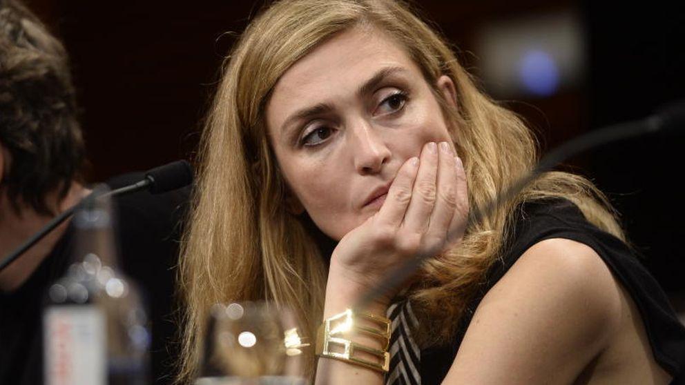 Julie Gayet aguanta las bromas sobre su idilio con Hollande
