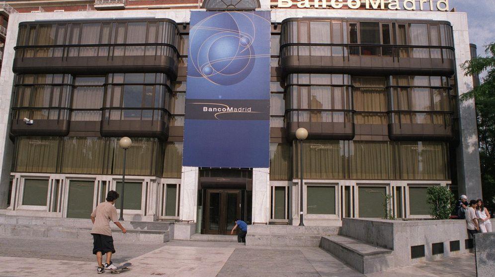 Foto: Sede de Banco Madrid en la Plaza de Margaret Thatcher.