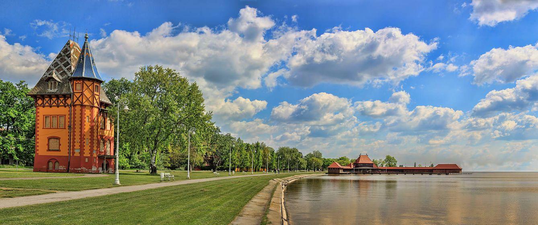 Foto: El lago de Palić tiene 5 kilómetros de longitud y poca profundidad