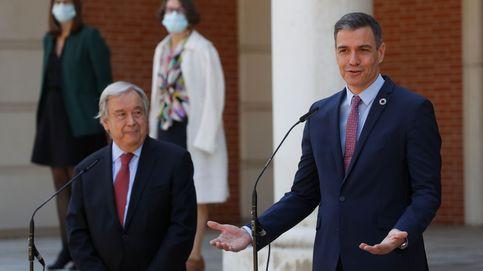 El secretario de la ONU avala ante Sánchez la creación de condiciones para el diálogo