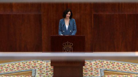 El discurso de Díaz Ayuso: hablar tanto para decir nada