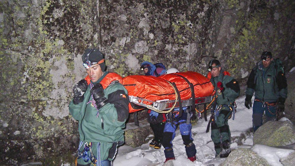 Foto: Guardia Civil Greim montaña rescate