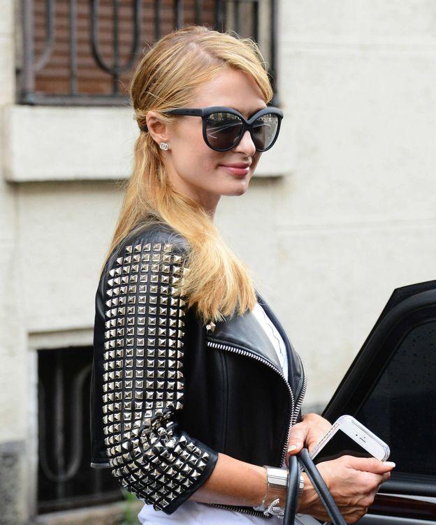 Foto: Paris Hilton paseando por las calles de Milán (Gtres)