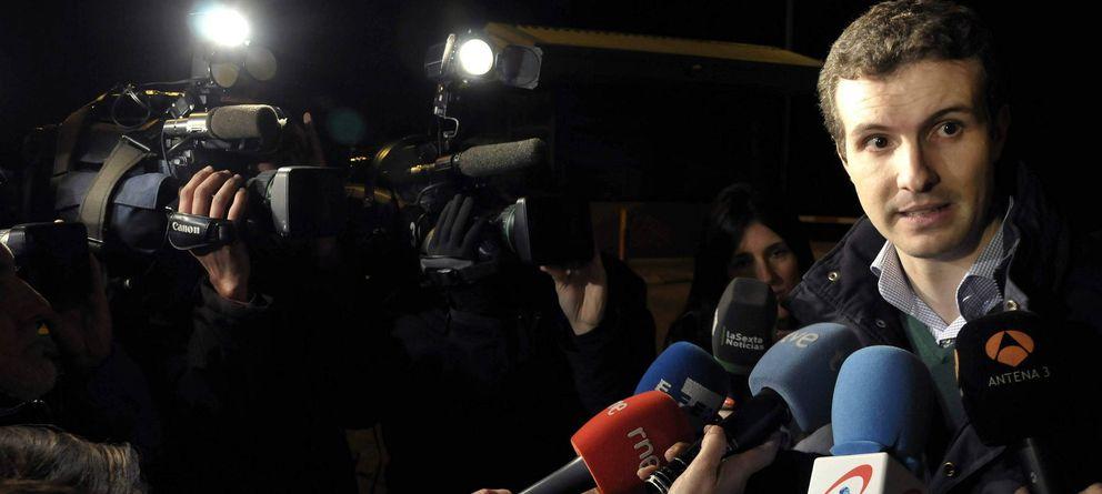 Foto: El diputado del Partido Popular Pablo Casado, ahora portavoz del comité de campaña (Efe)