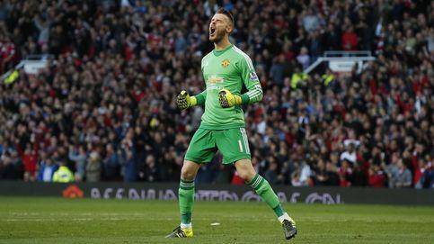 De Gea: en el United sonríen mostrando gestos de triunfo tras su frustrada salida