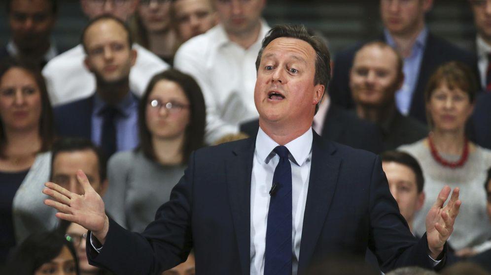 Foto: El primer ministro británico, David Cameron, en una comparecencia pública (Reuters).
