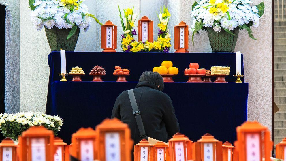 Los 'funerales malditos' de Corea del Sur