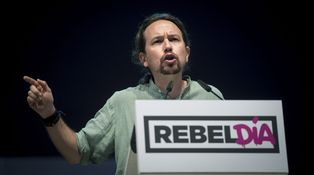 Pablo Iglesias es más duro que Rajoy