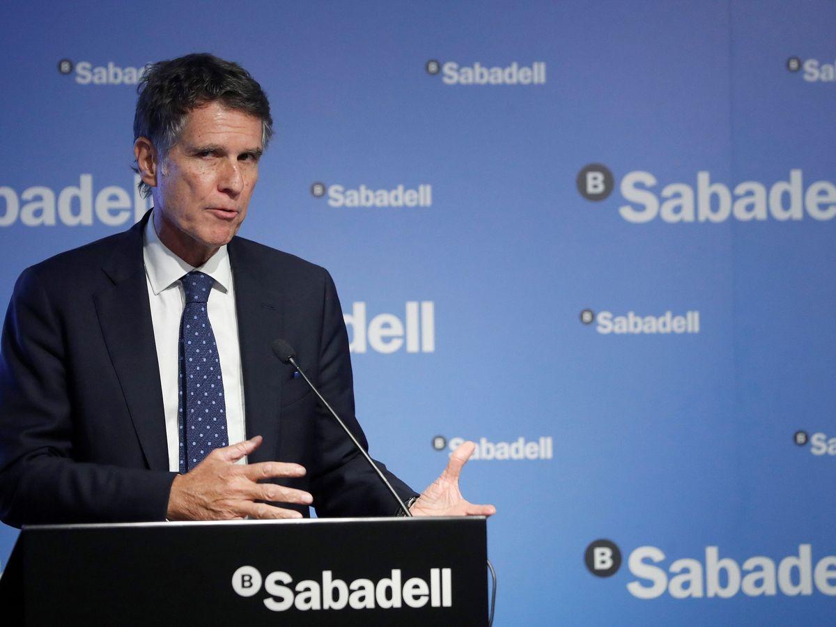Foto: El consejero delegado del Banco Sabadell, Jaime Guardiola.