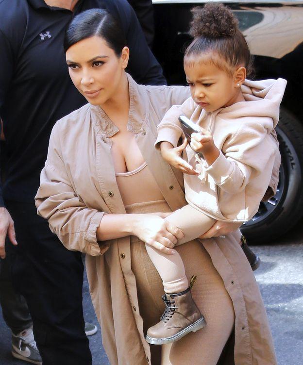 Foto: Kim Kardashian y North West en una imagen de archivo (Gtres)