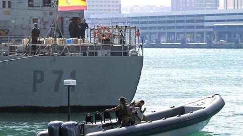 El patrullero español que liberó a la tripulación de un buque secuestrado por piratas