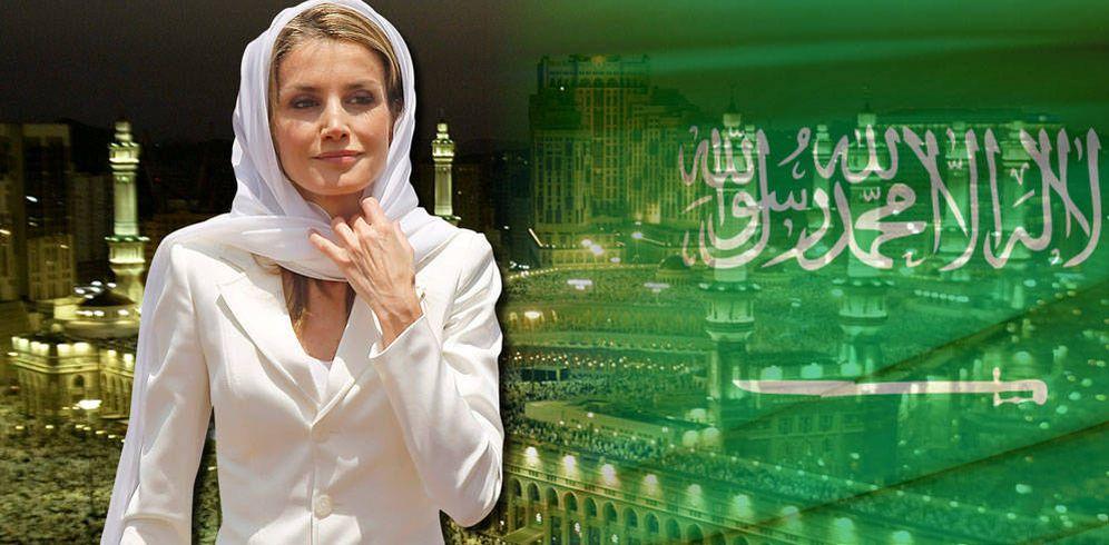 Foto: La Reina en un fotomontaje realizado por Vanitatis