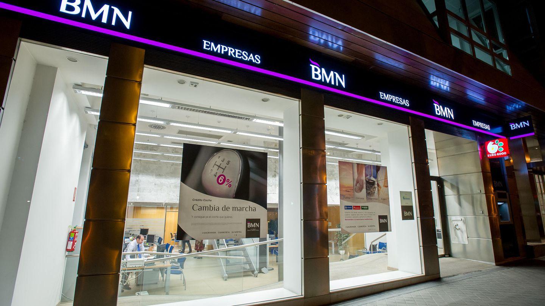 Oficina de BMN en Madrid.
