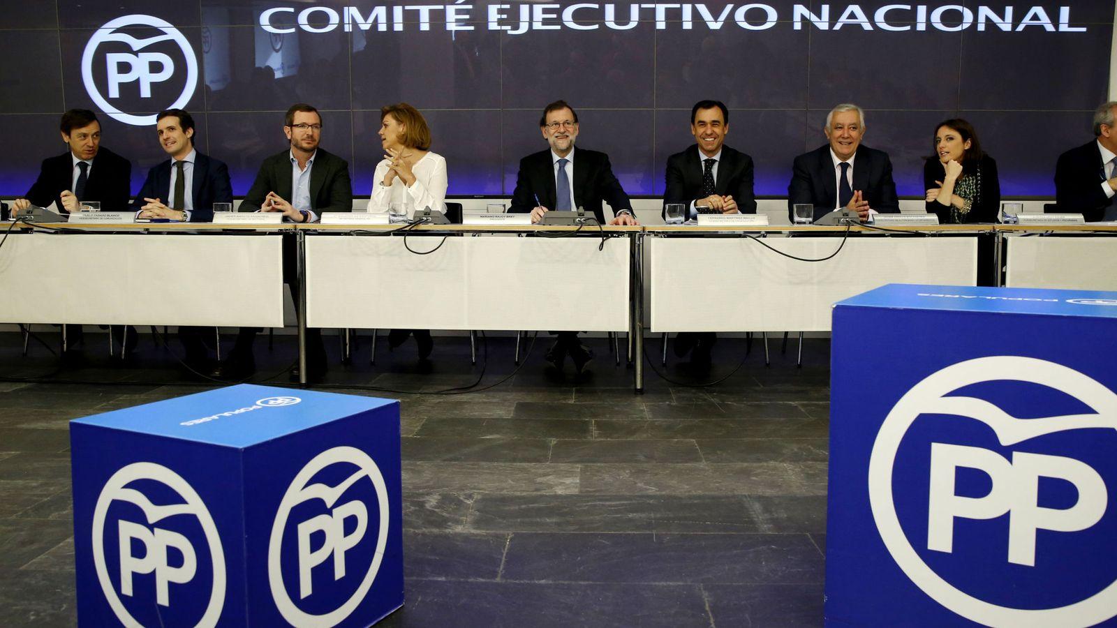 Foto: Comité Ejecutivo del PP. (Efe)