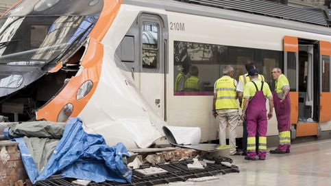 Accidente de tren en la la estación de Francia. (EFE)