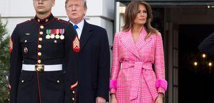 Post de El abrigo flúor de Melania Trump