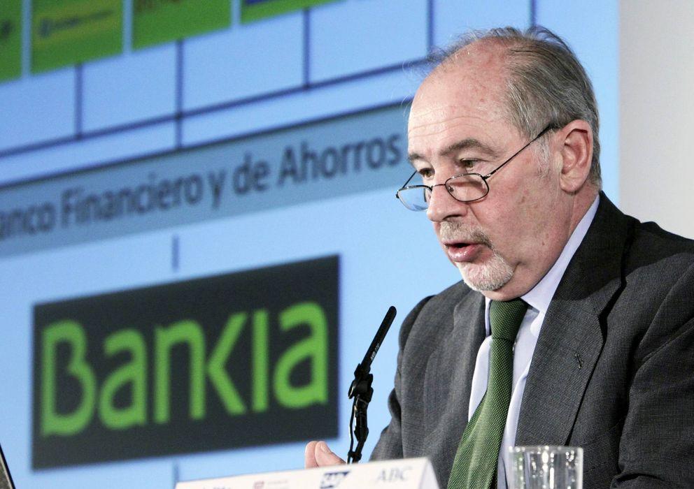 Foto: El expresidente de Bankia Rodrigo Rato, uno de los 34 directivos de la entidad imputados en la causa abierta por la Audiencia Nacional