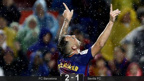 La noche de Paco Alcácer: ya lleva los mismos goles que el silbado Luis Suárez