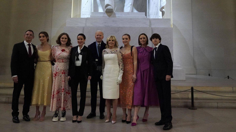 La familia de los Biden. (EFE)