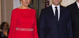 Post de Brigitte Macron se viste de rojo para invocar a la buena suerte china