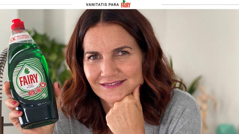 Foto: Samantha Vallejo-Nágera, embajadora de Fairy, en la campaña que ella misma protagoniza.
