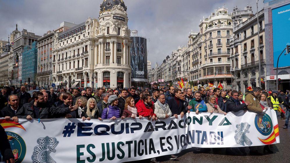 Foto: Manifestación organizada en Madrid el pasado 6 de abril. (EFE)