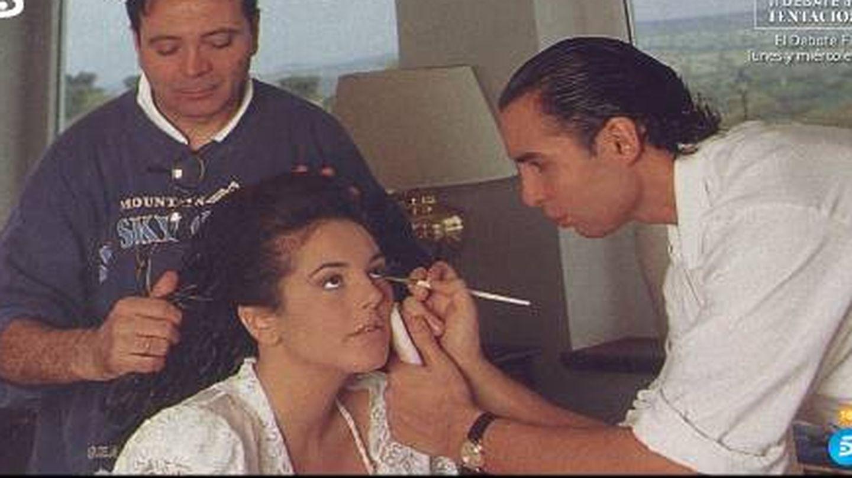 Rocío el día de su boda. (Mediaset)