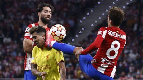 El Atlético rema para morir en la orilla contra el Liverpool (2-3)