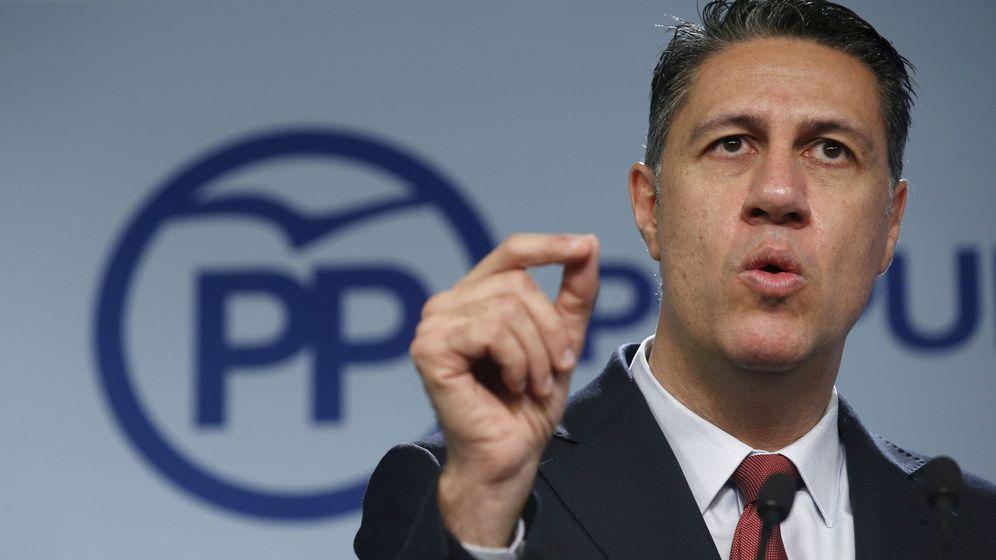 Foto: El líder del PPC en el parlamento catalán, Xavier García Albiol. (EFE)