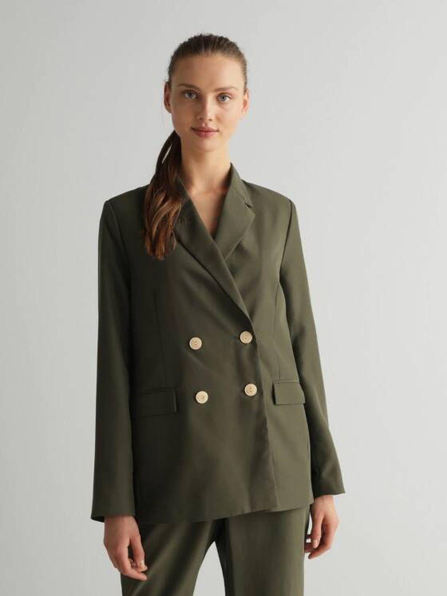 Una chaqueta de El Corte Inglés. (Cortesía)