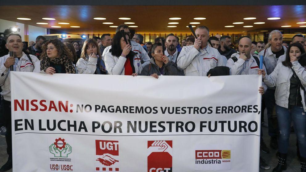 ERTE en Nissan: para su planta de Barcelona por la falta de suministros