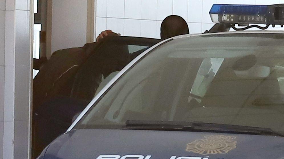 Foto: Momento de la detención de Antonio Tejón, el Castaña, en 2018. (EFE)