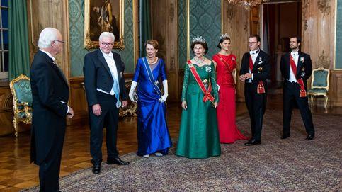 Joyas, color y una gran ausencia: la primera cena de gala poscovid de la Casa Real sueca