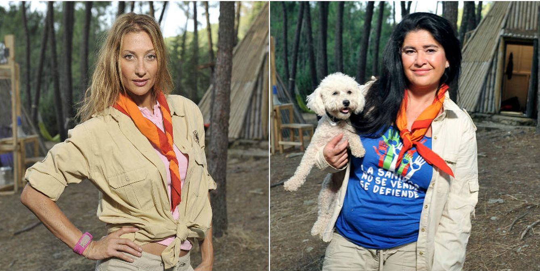 Foto: Mónica Pont y Lucía Etxebarría en 'Campamento de verano'