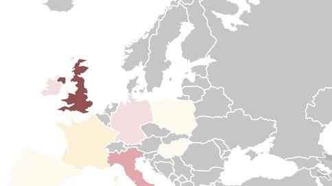 El mapa del riesgo político en la UE: España preocupa poco... a pesar de las elecciones