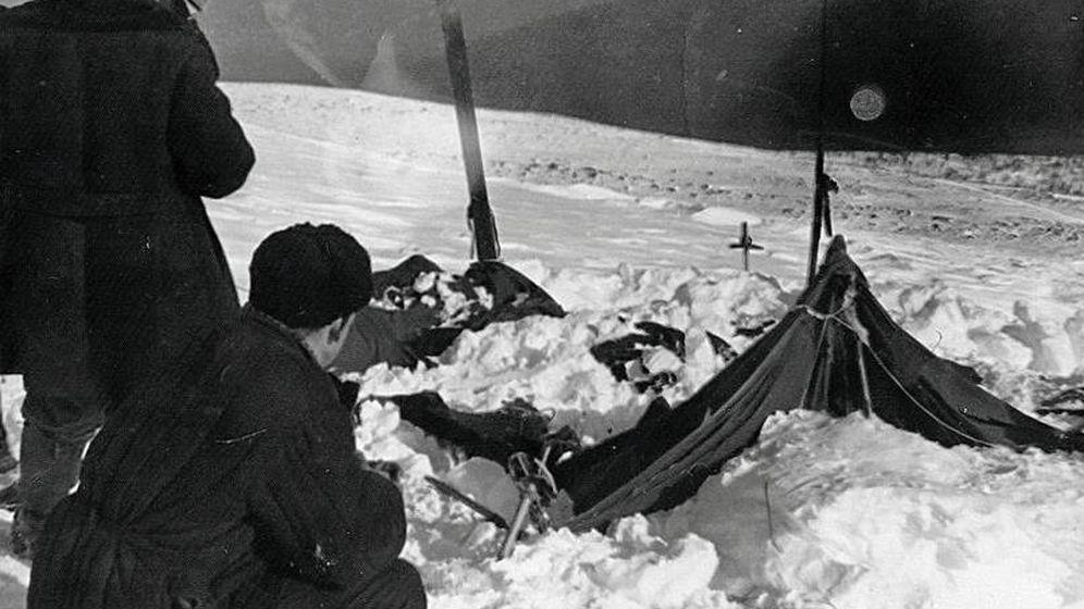 Foto: Imagen del estado de la tienda de la expedición en el momento en que fue encontrada. (Wikipedia)