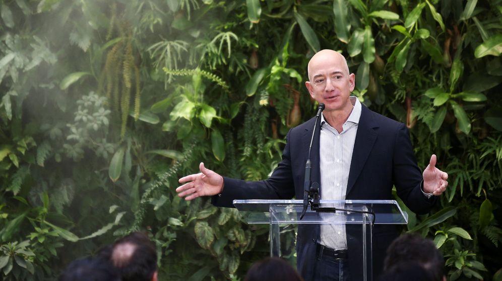 Foto: El fundador y CEO de Amazon, Jeff Bezos, en un acto en Seattle. (Reuters)