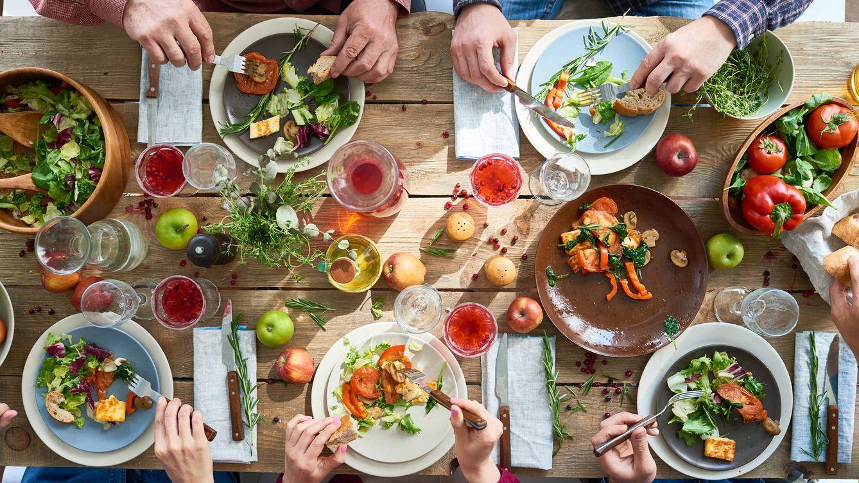 Foto: Alimentación variada. (iStock)