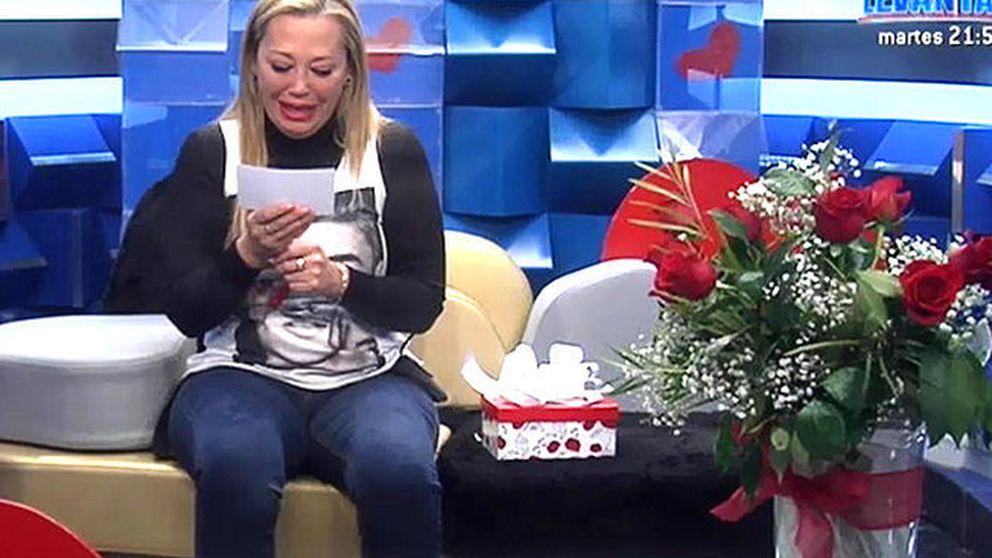 Belén Esteban recibe una sorpresa por San Valentín