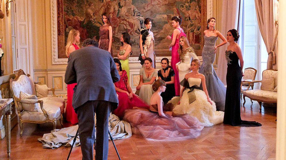 Foto: Shooting para la revista 'Vanity Fair' del Baile de Debutantes.