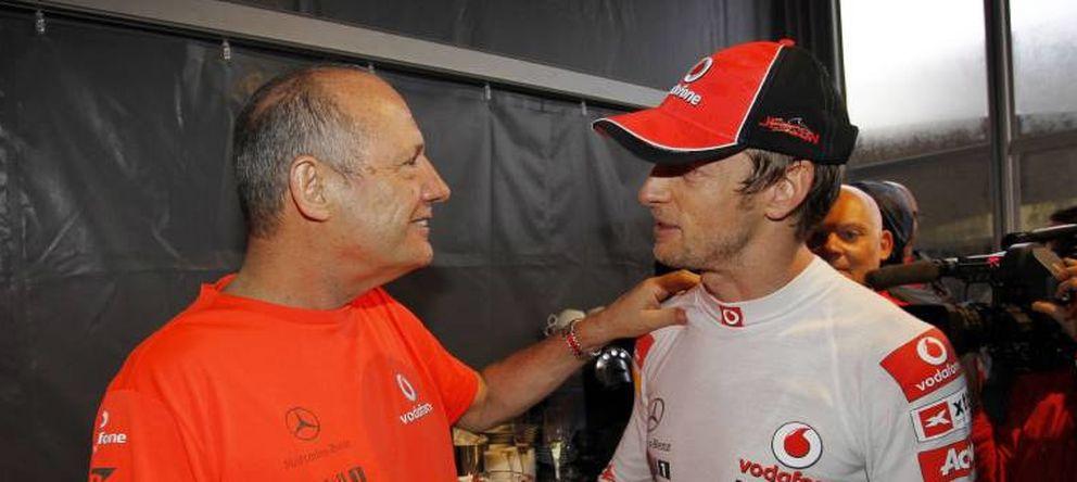 Dennis empezó la revolución de McLaren con Boullier, ¿la terminará sin Button?